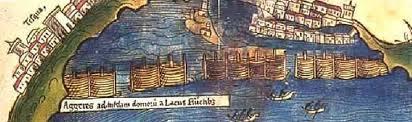 Primer mapa de Mexico-tenochtitlan