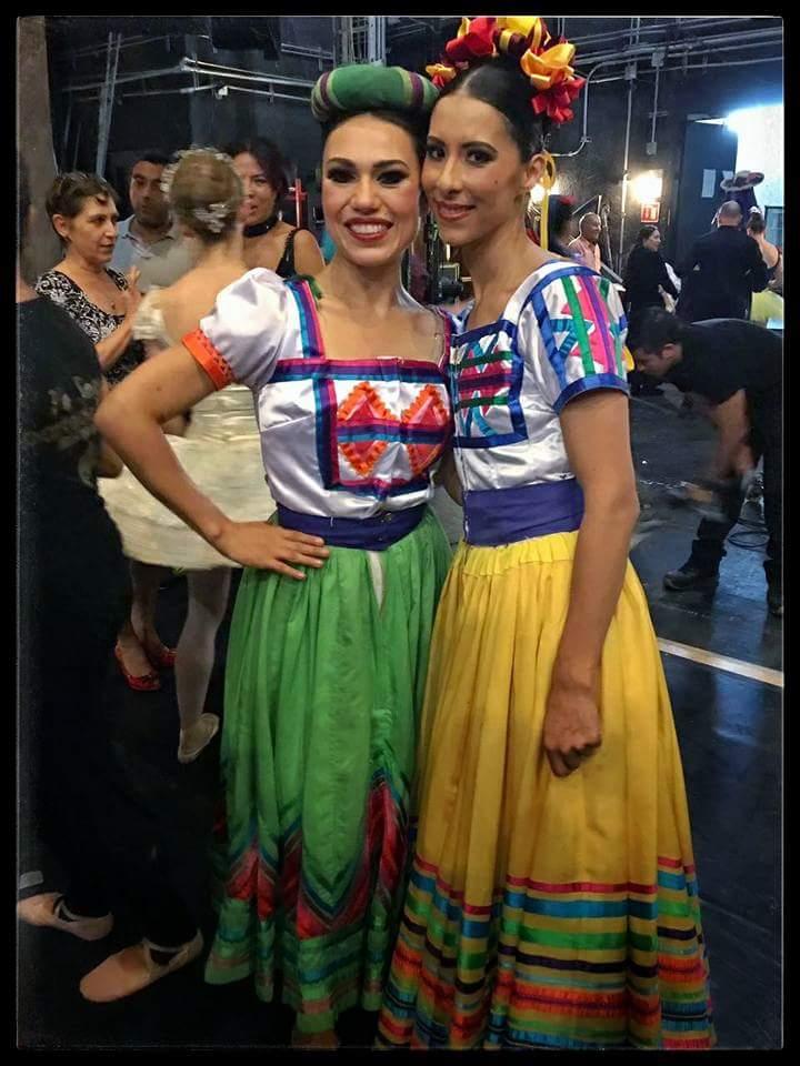 Elisa Carrillo , bailarina .