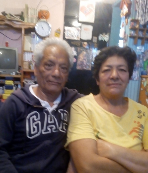 Mis queridos padres , Emilia de Lourdes Zarazúa y Mariano Torres Torres.