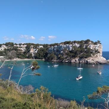 Hermosas playas de Menorca.