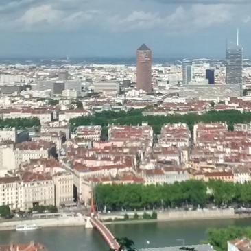 Colina dónde se encuentra la Catedral de Nuestra señora de Fourvière